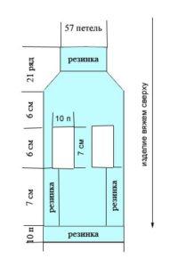Схема вязания свитера для чихуахуа